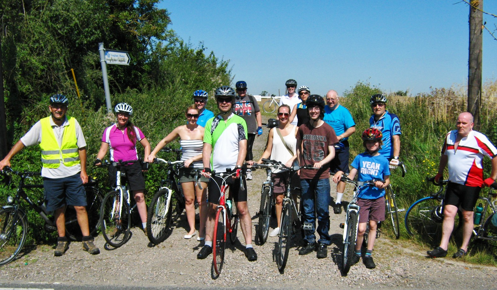 Recreation Ride Through Shoeburyness, Gt. Wakering & Barling 18th August 2012