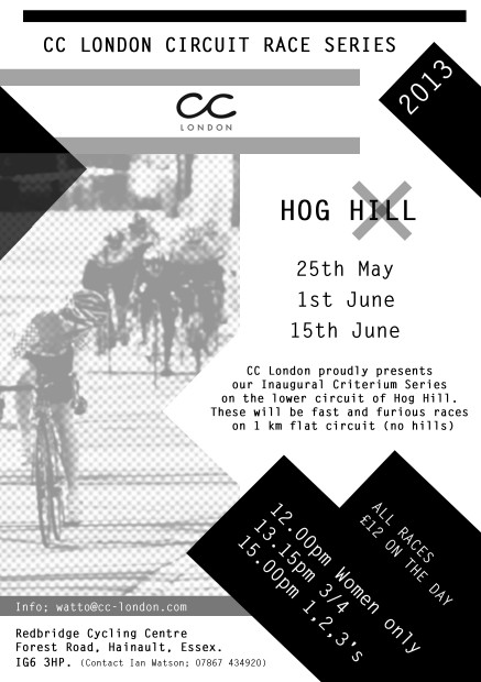 CC London Circuit Race Series 2013