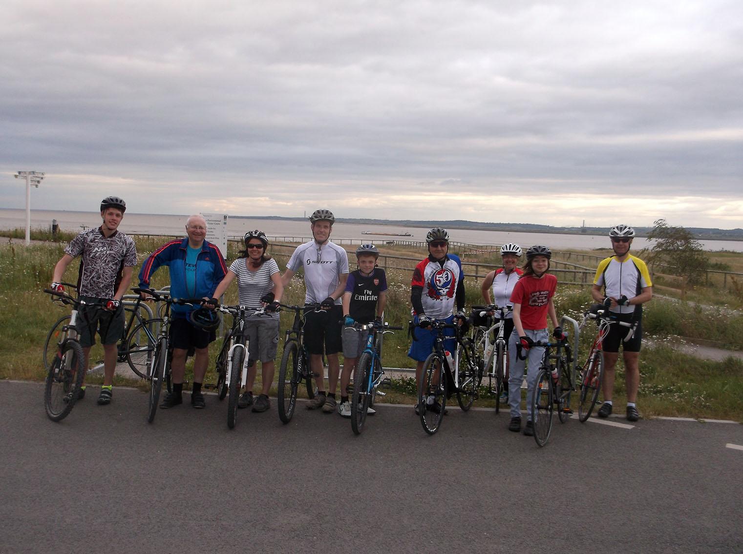 Gateway Family Ride to Thameside Nature Park – Sunday 4th September
