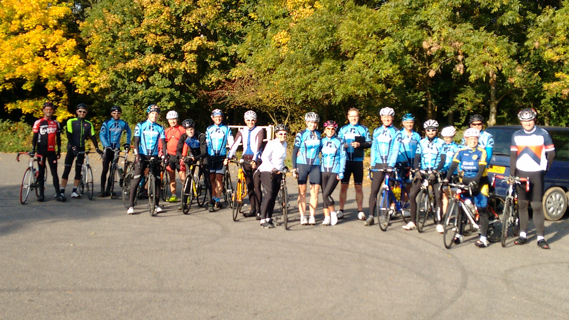 Gateway Hill climb Sunday 18th October 2015