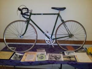 Vic Gibbons 1953 TT Bike