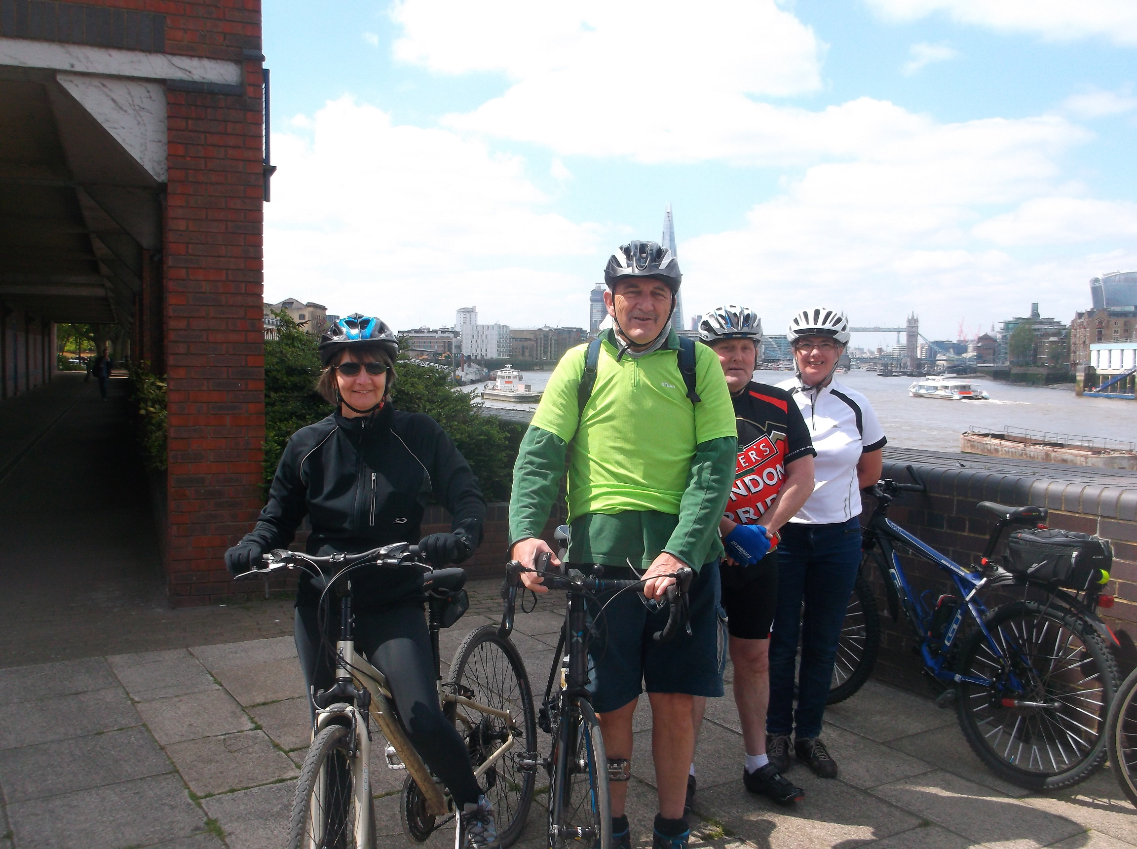 London Riverbank Recreation Ride Report