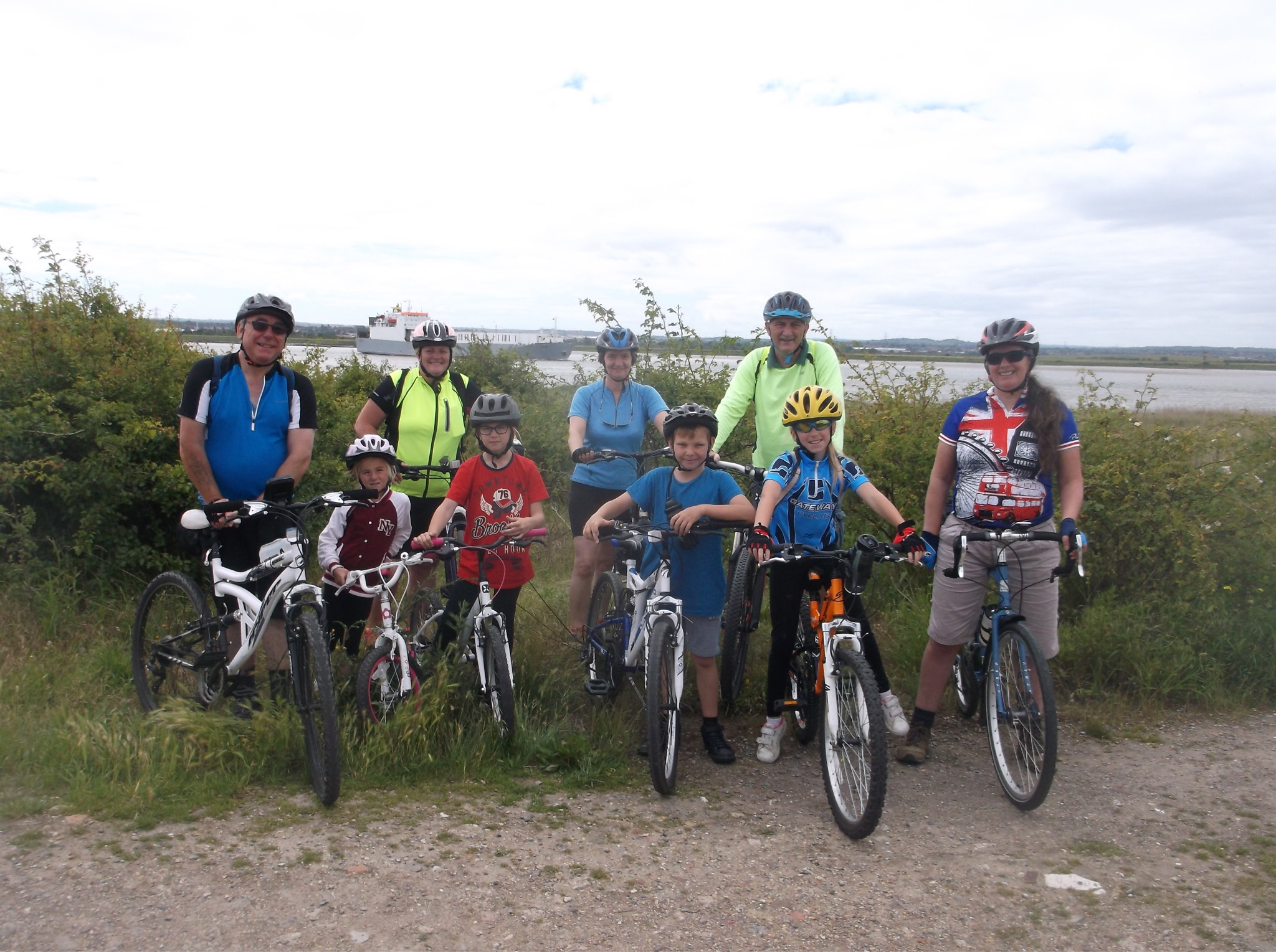 Gateway Family Ride To Thameside Nature Park – Saturday 9th June