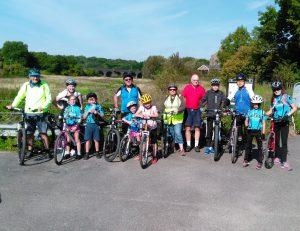 Family Ride to Belhus Woods