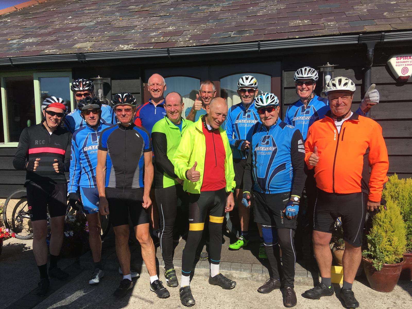 Bob's mid week ride 26th September 2018