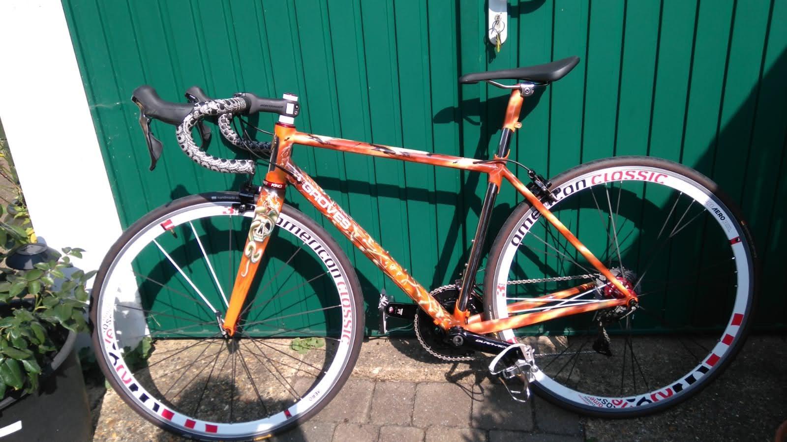 Tale of a Bespoke Bike Frame. End Of.